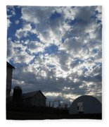 Light In The Sky Fleece Blanket