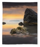 Light In The Storm Fleece Blanket