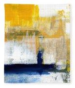 Light Of Day 4 Fleece Blanket by Linda Woods