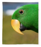 Light Of Love - Eclectus Parrot Fleece Blanket
