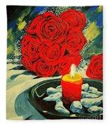 Light Of Love Fleece Blanket