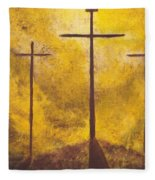 Light Of Salvation Fleece Blanket