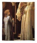 Light Of The Harem Fleece Blanket