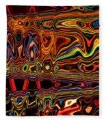 Light Painting 1 Fleece Blanket