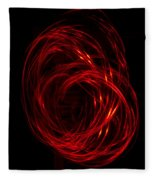 Light Painting 2 Fleece Blanket