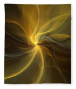 Light Painting Fleece Blanket