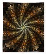 Light Spiral Fleece Blanket