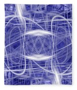 Light Trails 1 Fleece Blanket
