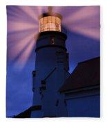 Light Up The Ocean And Sky Fleece Blanket