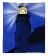 Light Up The Sea Fleece Blanket