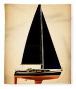 Lightening Sails Fleece Blanket