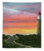 Lighthouse 2 Fleece Blanket