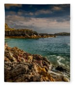 Lighthouse Bay Fleece Blanket