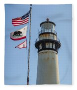 Lighthouse Fleece Blanket