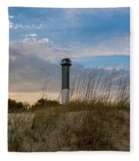 Lighthouse Dunes Fleece Blanket