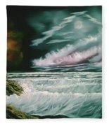 Lighthouse Glow Fleece Blanket