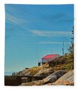Lighthouse Park Fleece Blanket