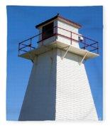 Lighthouse Pei Fleece Blanket