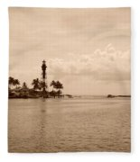 Lighthouse Point Fleece Blanket
