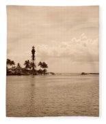 Lighthouse Point Fleece Blanket