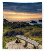 Lighthouse View Fleece Blanket