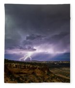 Lightning 32 Fleece Blanket