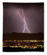 Lightning 5 Fleece Blanket