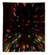 Lights In Motion Fleece Blanket