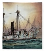 Lightship Swiftsure Fleece Blanket