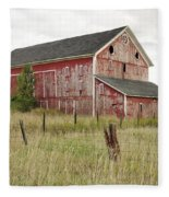 Ligonier Barn Fleece Blanket