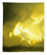 Like A Voice Through The Clouds Fleece Blanket