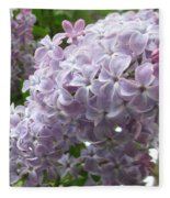 A Lighter Shade Of Lilac Fleece Blanket