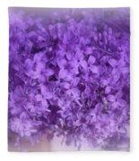 Lilac Fantasy Fleece Blanket