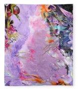 Lilac Goldfish Fleece Blanket