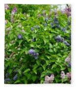Lilac Heaven Fleece Blanket