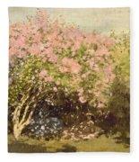 Lilac In The Sun, 1873 Fleece Blanket