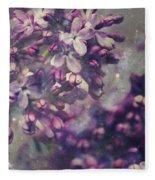 Lilac Fleece Blanket