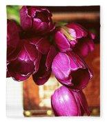 Lilies To Go Fleece Blanket