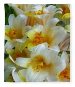 Lilium Regale Fleece Blanket