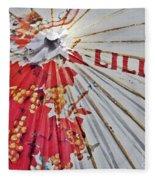Lillet Parasol Fleece Blanket