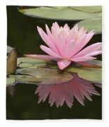 Lilly And Reflective Beauty Fleece Blanket