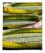 Lilly Pads Fleece Blanket