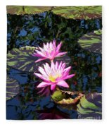 Lily Monet Fleece Blanket