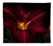 Lily Number Nine Fleece Blanket