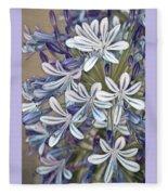 Lily Of The Nile Fleece Blanket
