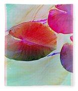 Lily Pad 1 Fleece Blanket