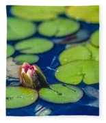 Lily Pads Fleece Blanket