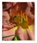 Lily Seduction Fleece Blanket