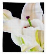 Lily Solitaire Fleece Blanket