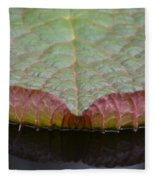 Lilypad Abstract Fleece Blanket